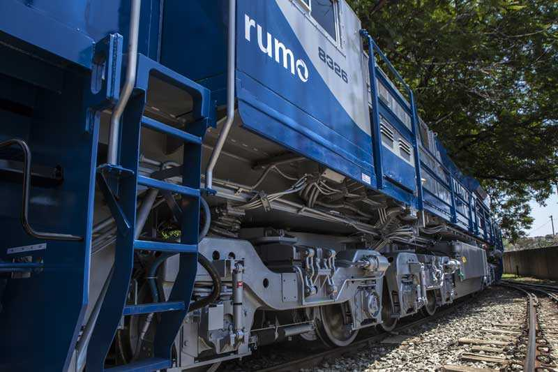 Picture of a train on a railway track